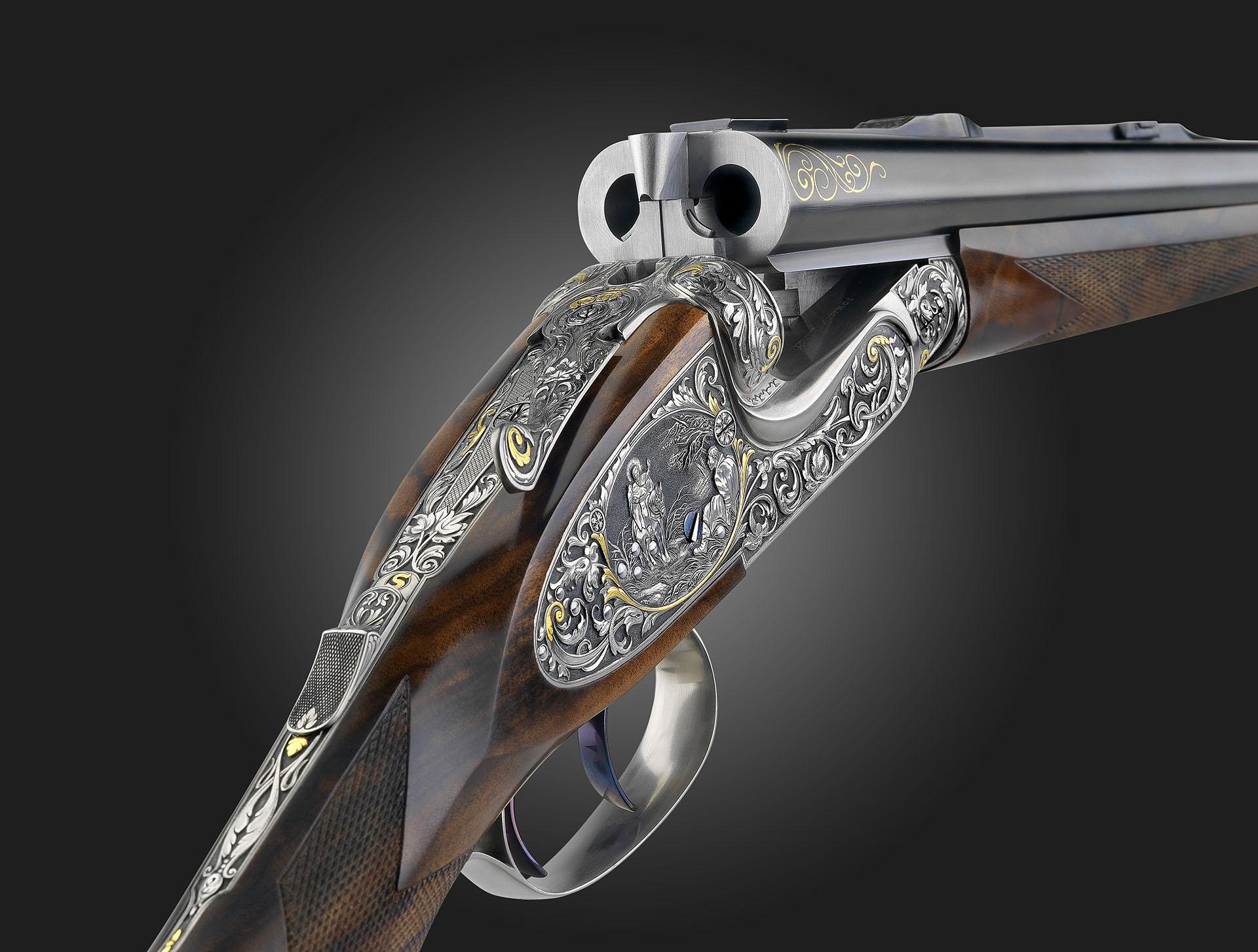 Sidelock double rifle - Johann Fanzoj